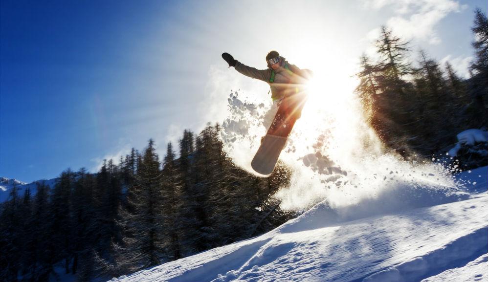 Фото: Сноубординг в Чили