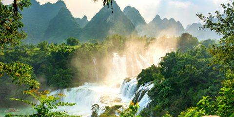 Фото: Водопады Китая