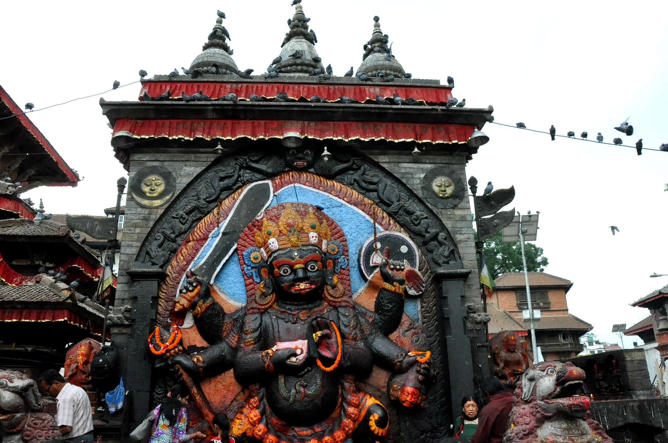 Фото: Индуистский храм