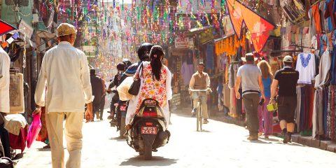 Фото: Транспорт в Катманду
