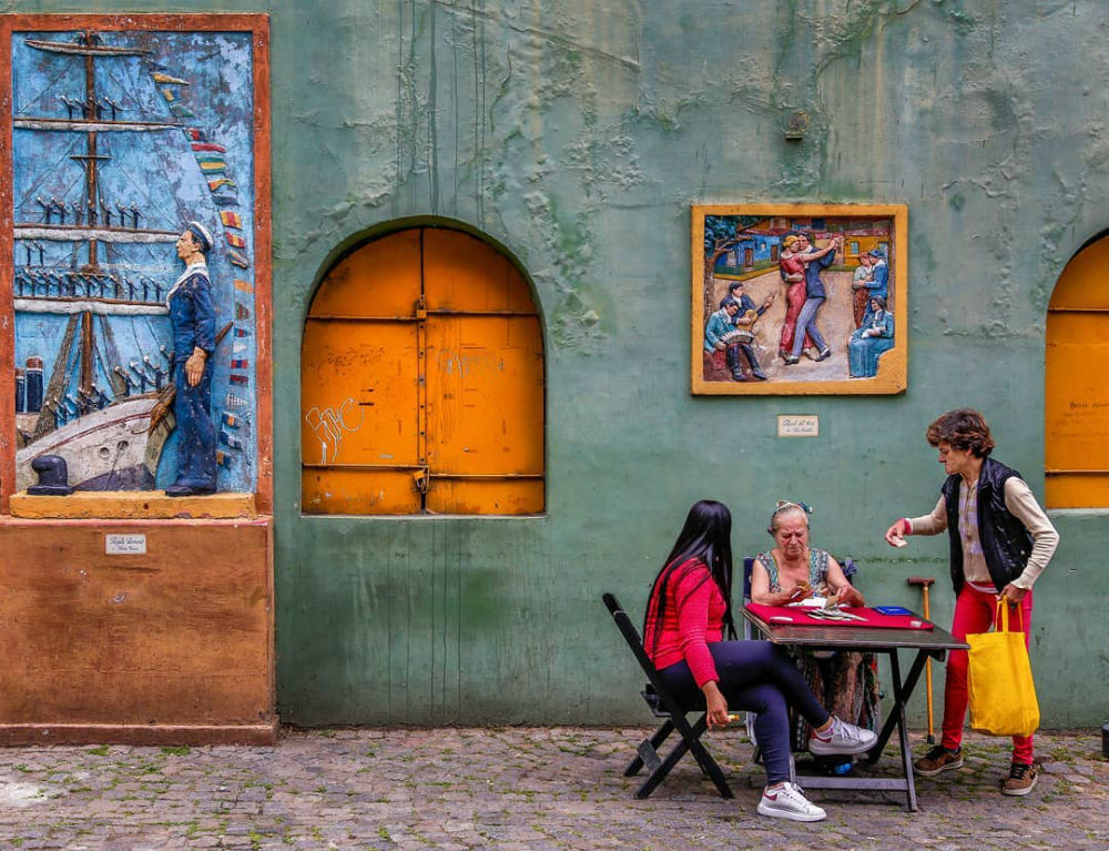 Фото: Улица Ла-Бока