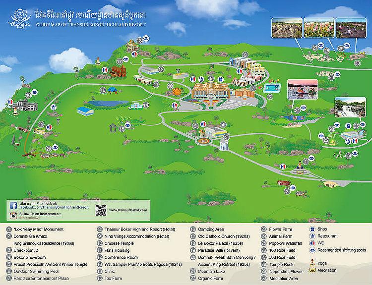Фото: Карта достопримечательностей