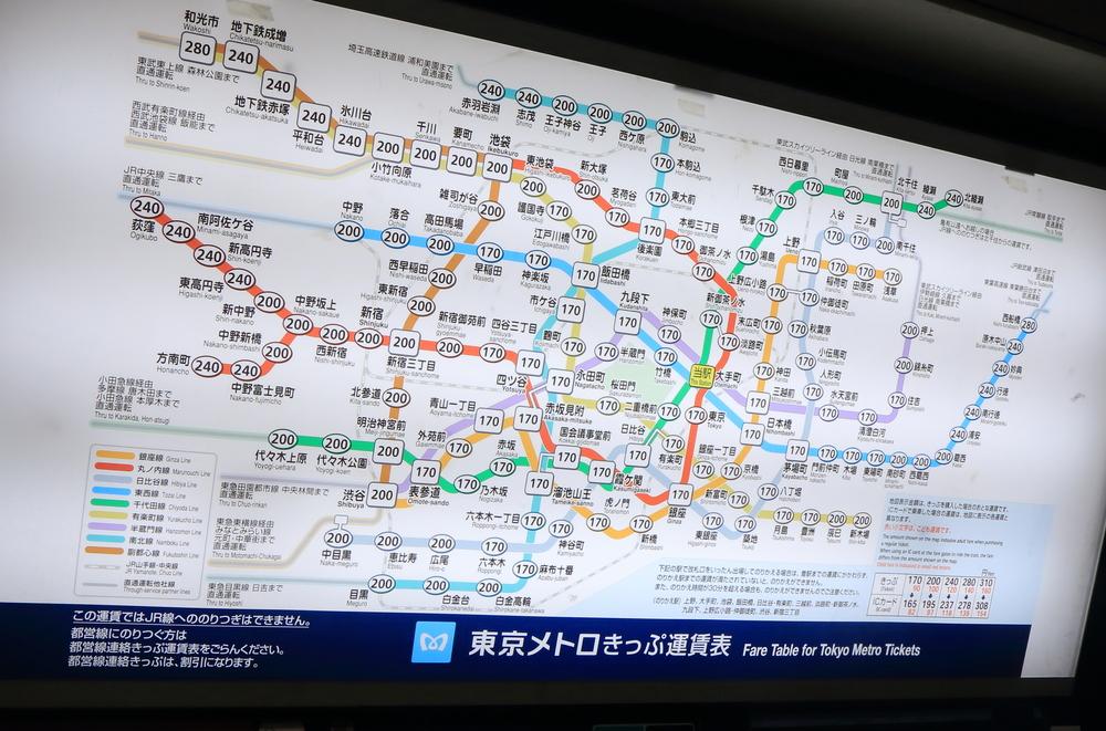 Фото: Карта метро