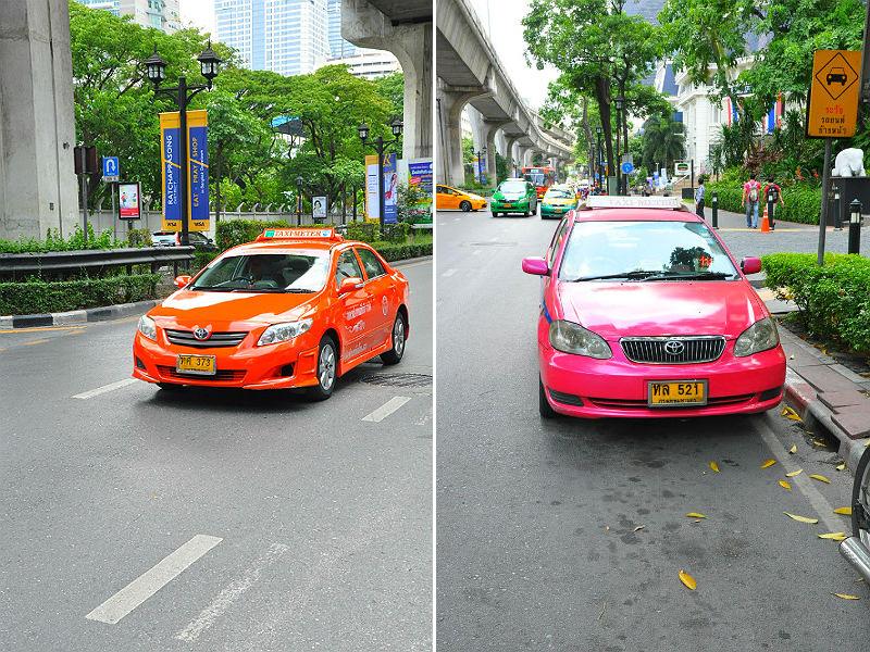 Фото: Такси в Бангкоке