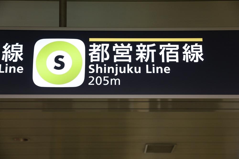 Фото: Указатели в метро