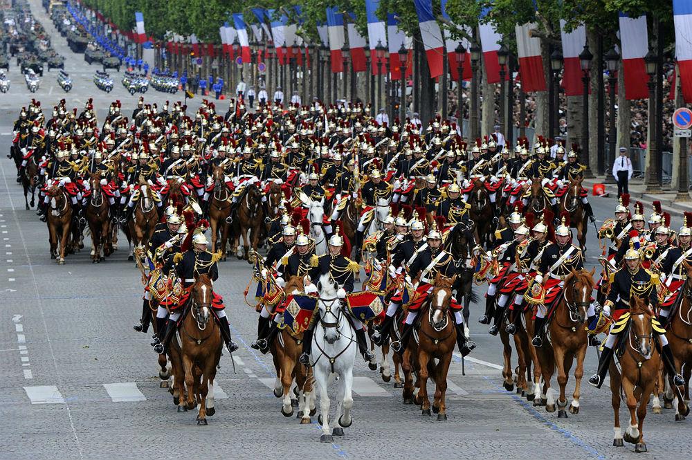 Фото: День взятия Бастилии