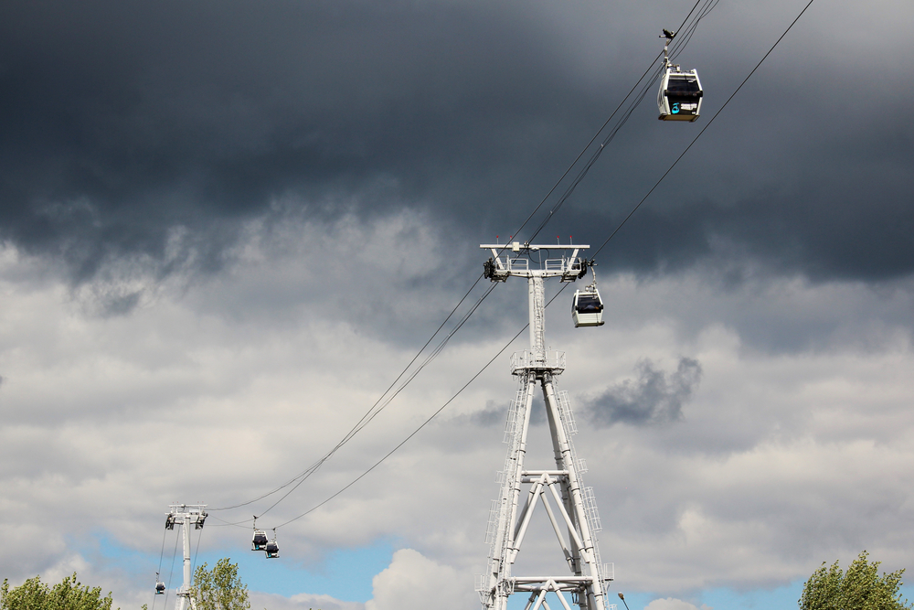 Photo: Cable car