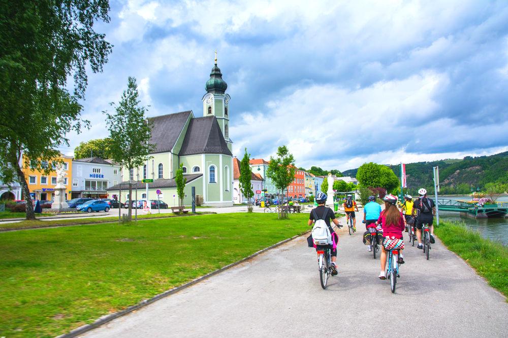 Фото: Австрийская дунайская велодорожка
