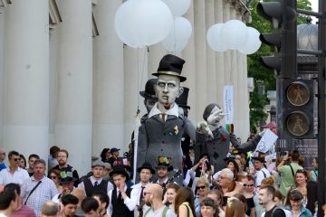 Фото: День Достоевского в Петербурге
