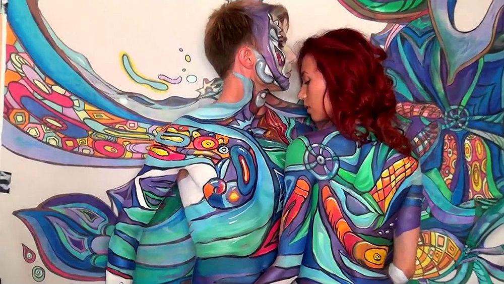 Фото: Фестиваль рисования на теле