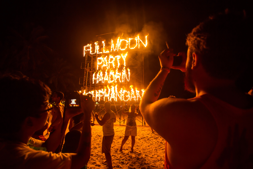 Фото: Full Moon Party