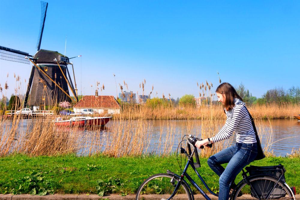 Фото: Рейнская велодорожка