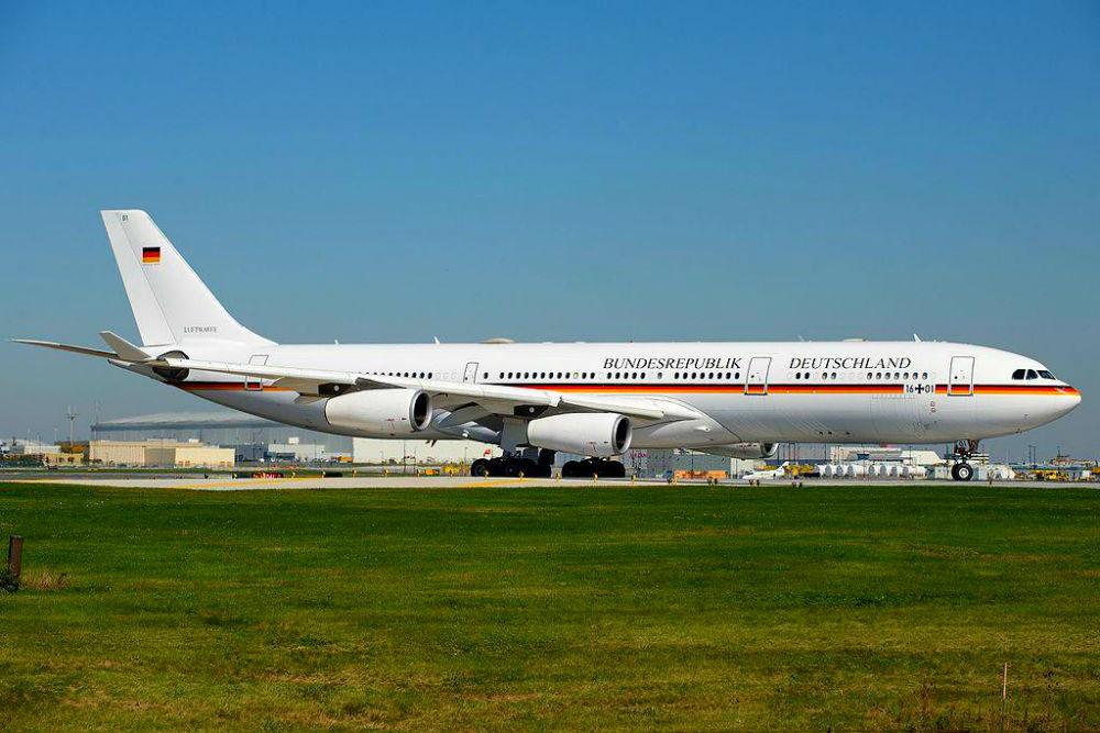 Фото: Airbus A340