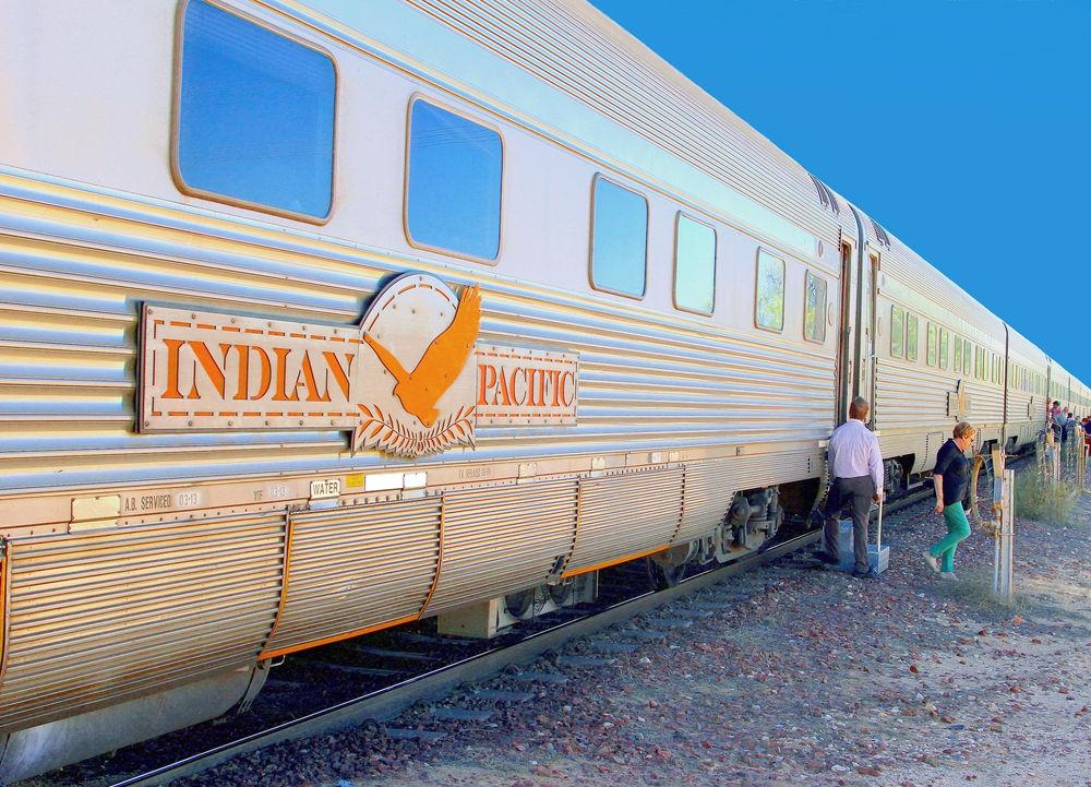 Фото: Поезд в Австралии