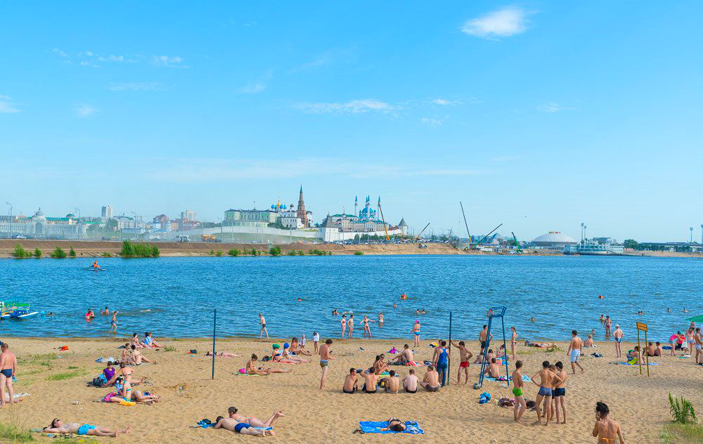 Фото: Пляжи Казани