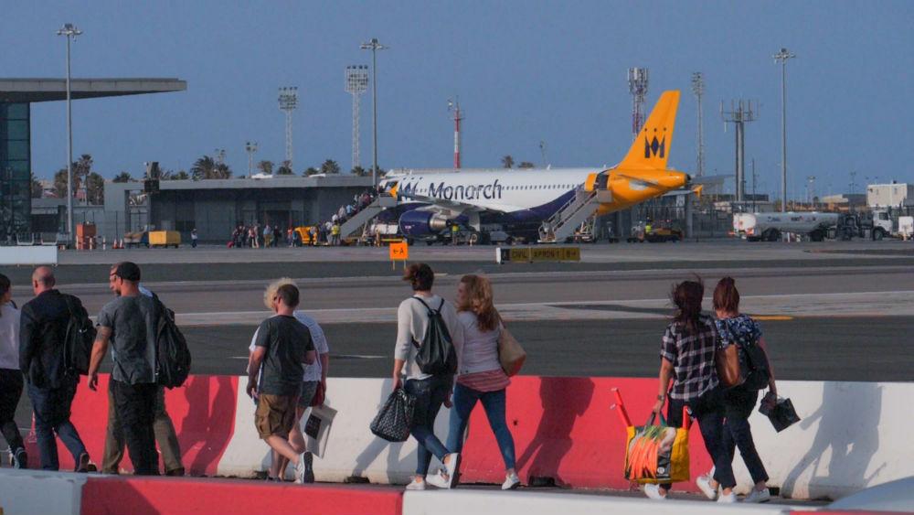 Фото: Аэропорт Гибралтара