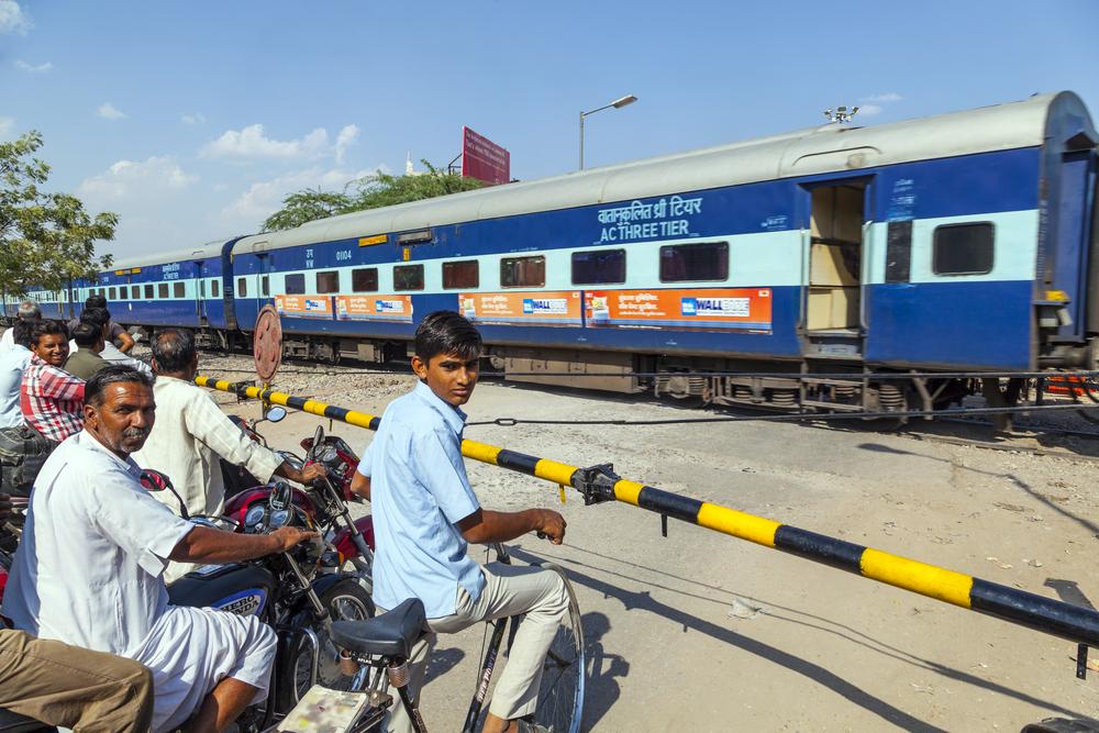 Фото: Поезд в Индии