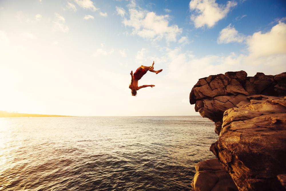 Фото: Прыжки со скал