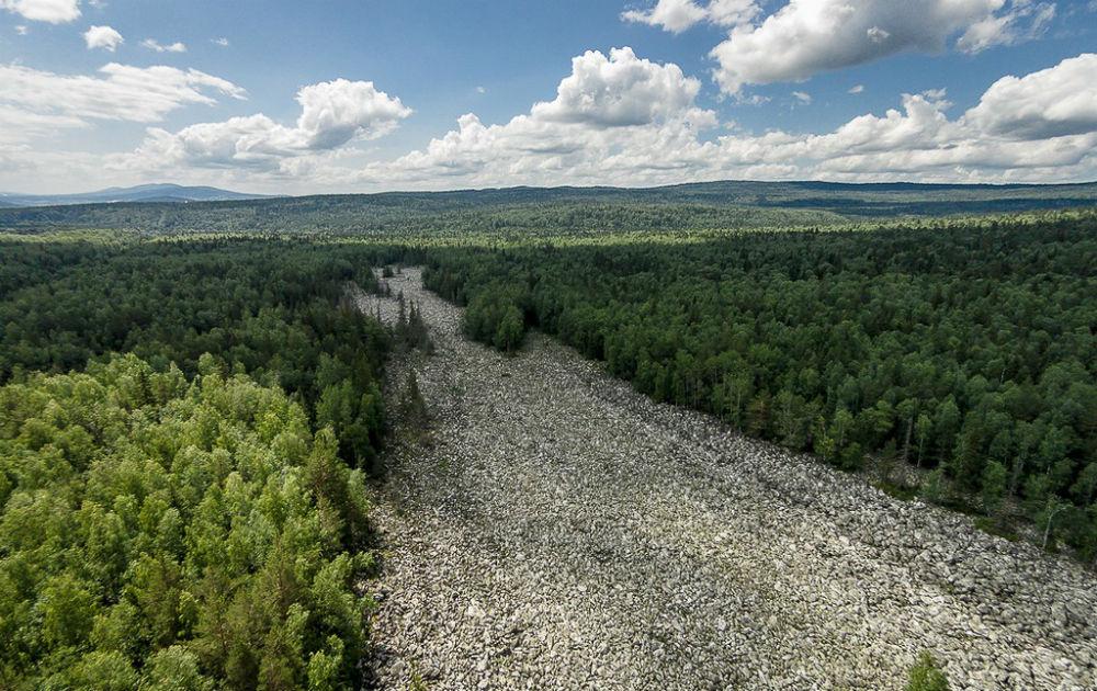Фото: Каменная река