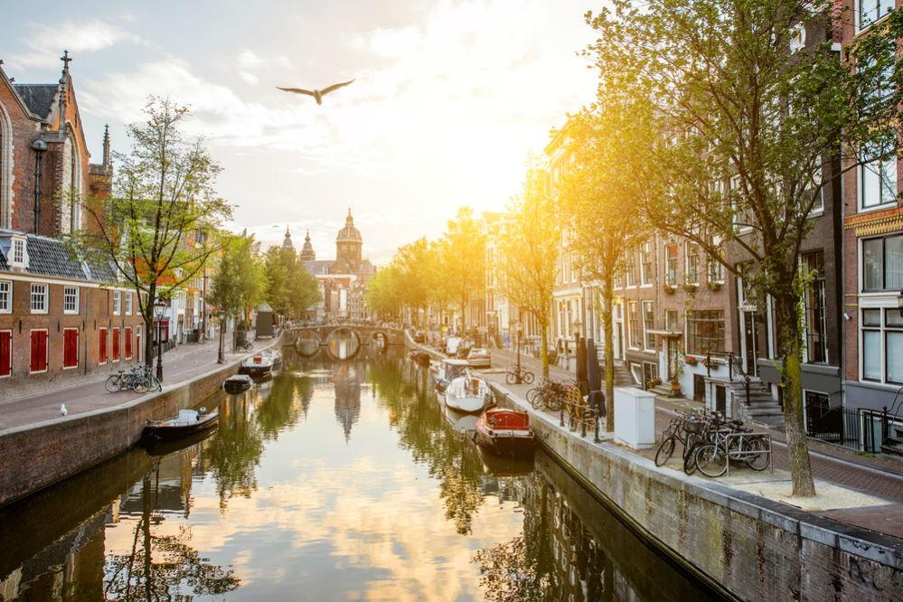 Фото: Фото: Каналы в Амстердаме