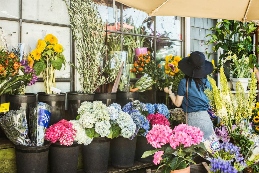Фото: Цветочный рынок