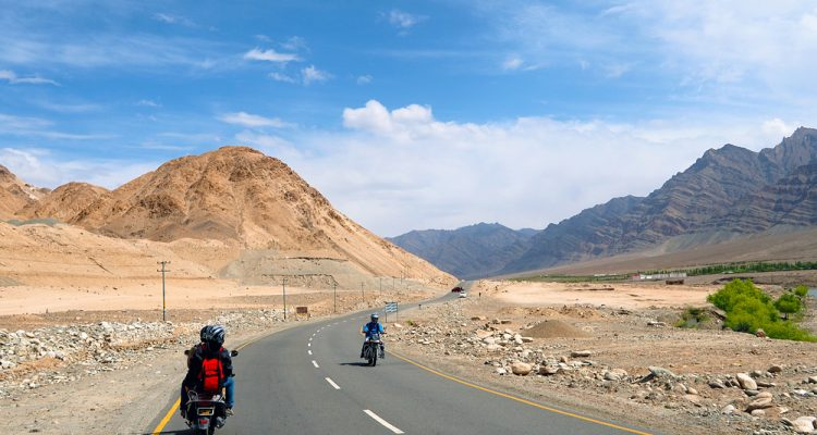 Фото: Путешествие по Гималаям на мотоцикле