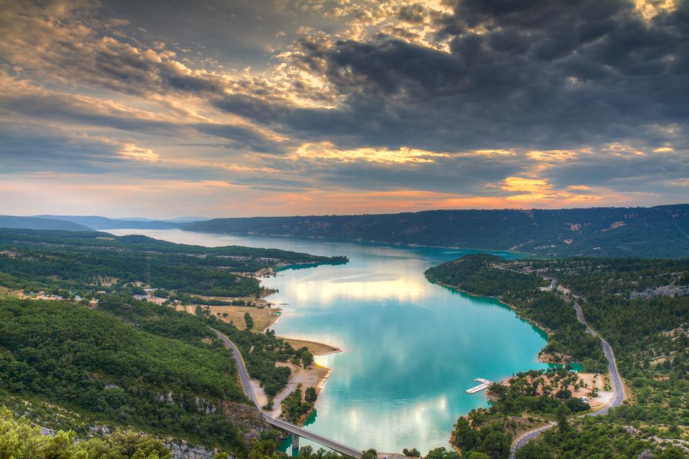 Фото: Озеро Сент-Круа-дю-Вердон