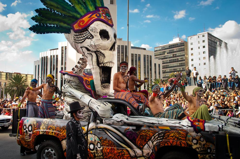 Фото: День мёртвых в Мексике