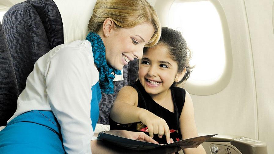 Фото: Няня в полёте
