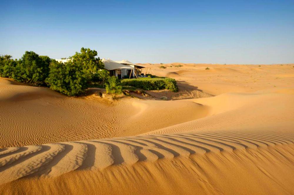 Фото: Отель-оазис в пустыне, ОАЭ