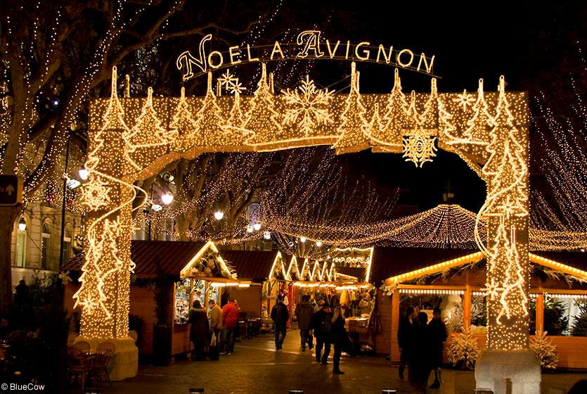 Фото: Рождественская ярмарка в Авиньоне