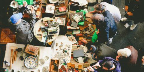 Фото: Блошиные рынки