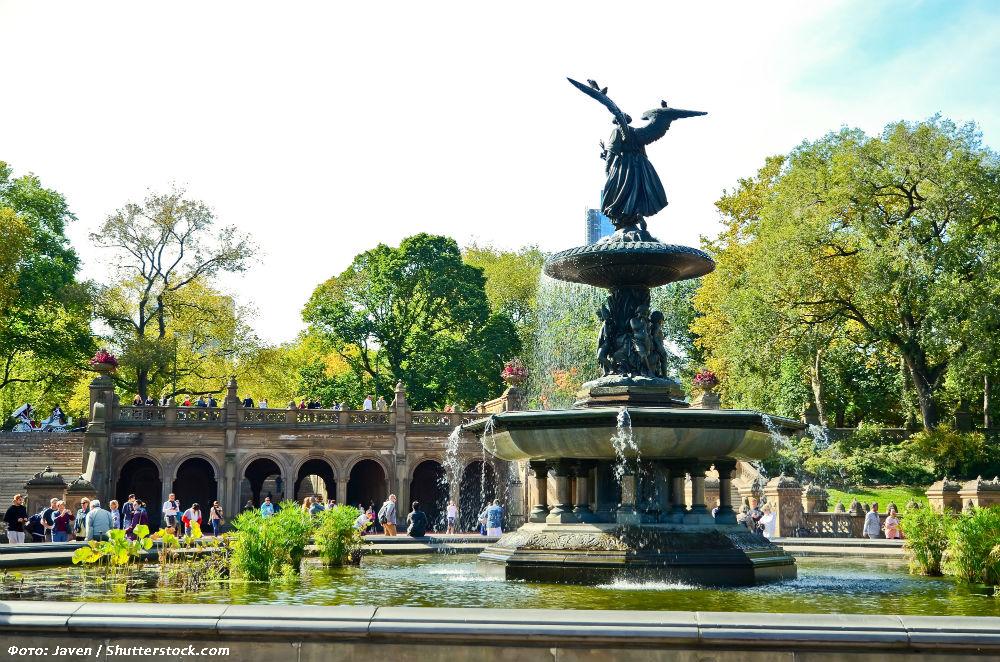 Фото: Фонтан в Центральном парке