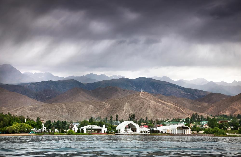 Фото: Озеро Иссык-Куль