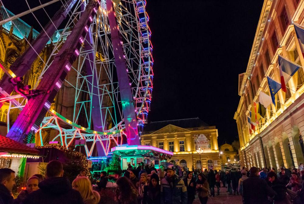 Фото: Рождественская ярмарка в Меце