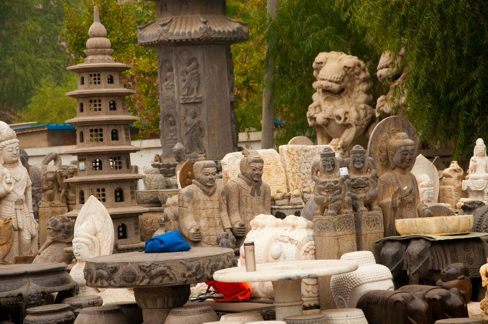 Фото: Panjiayuan, Пекин, Китай