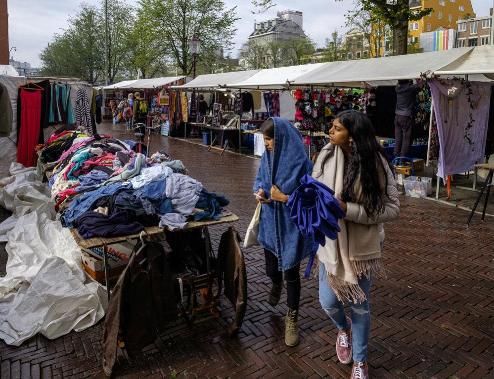 Фото: Waterlooplein, Амстердам, Нидерланды