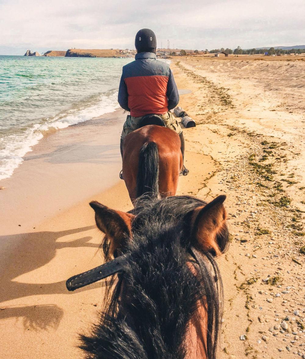 Фото: Прогулка на лошадях