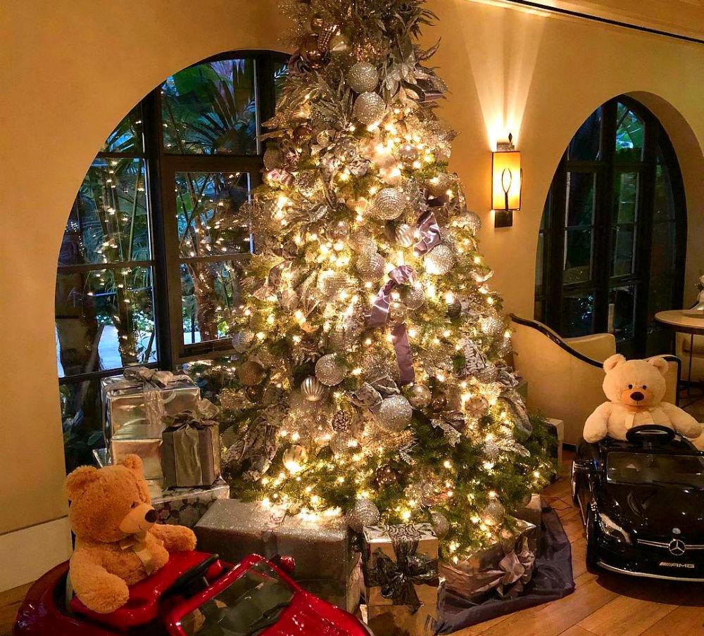 Фото: Рождественское оформление в Hotel Bel-Air