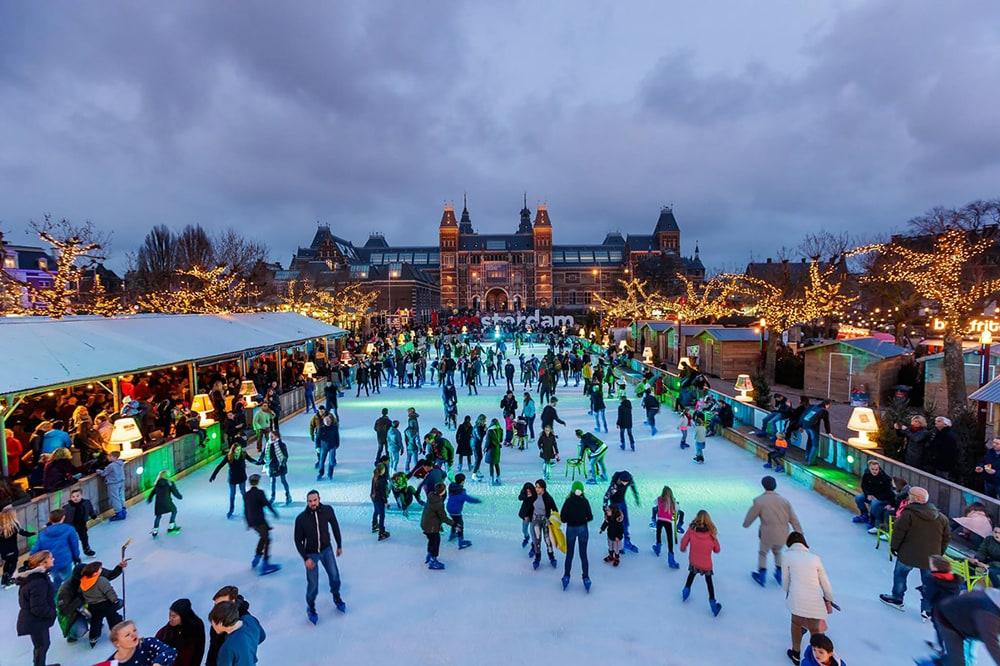 Фото: Каток Ice* в Амстердаме