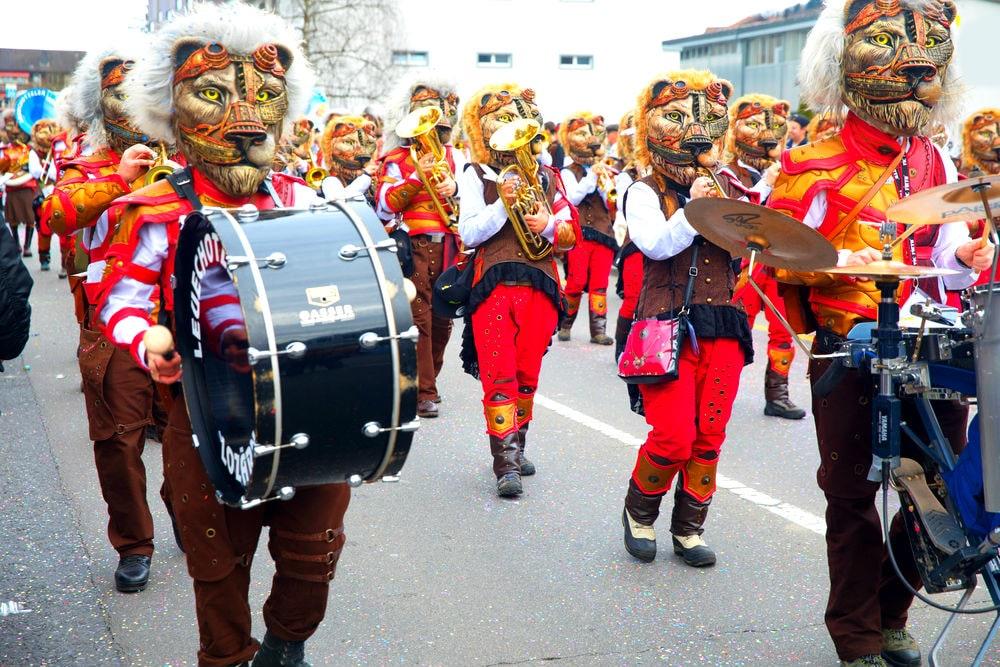 Фото: Карнавал в Люцерне