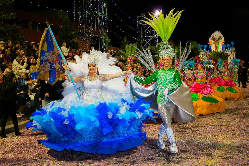 Фото: Карнавал на Мадейре