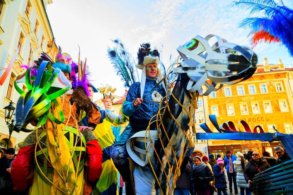 Фото: Карнавал в Праге