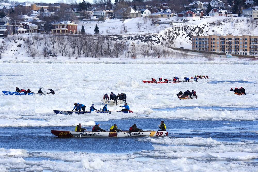 Фото: Зимний карнавал в Квебеке