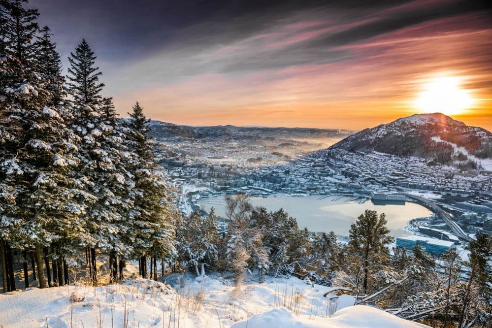Фото: Горы в Норвегии