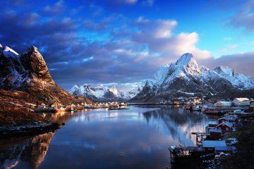 Фото: Норвегия зимой