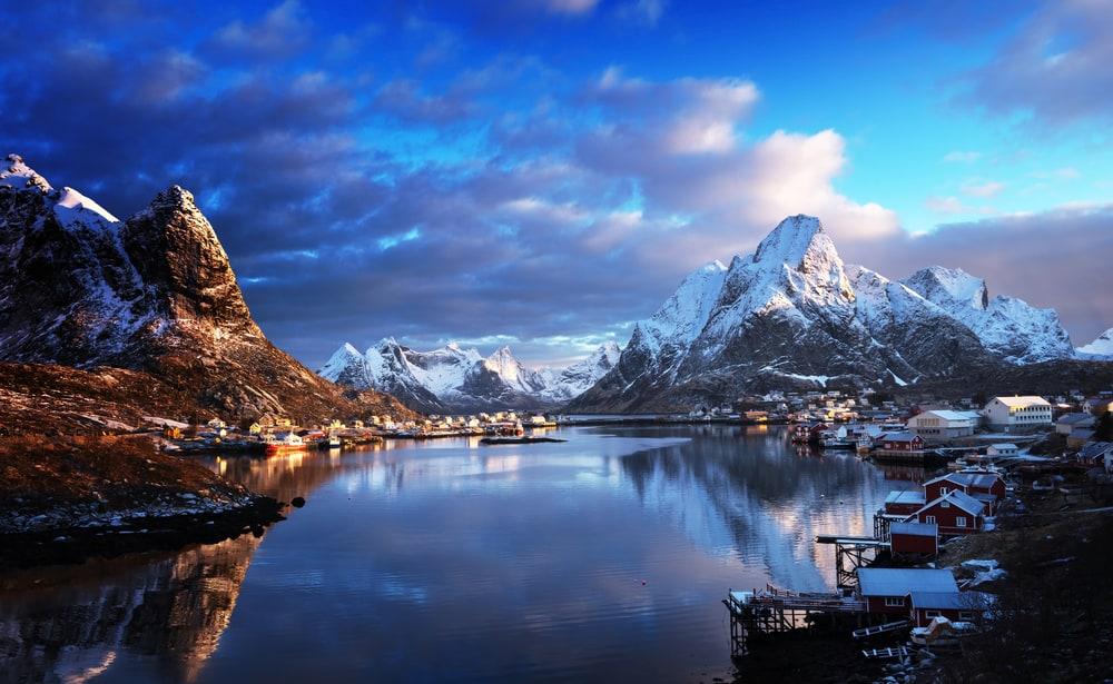 Картинки по запросу норвегия зимой