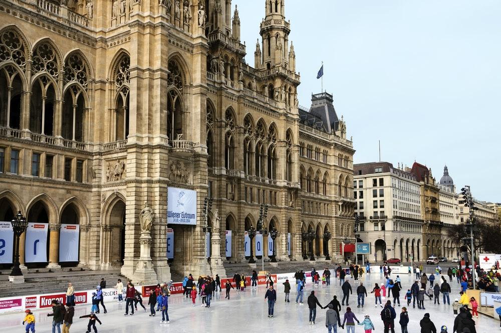 Фото: Каток в Вене