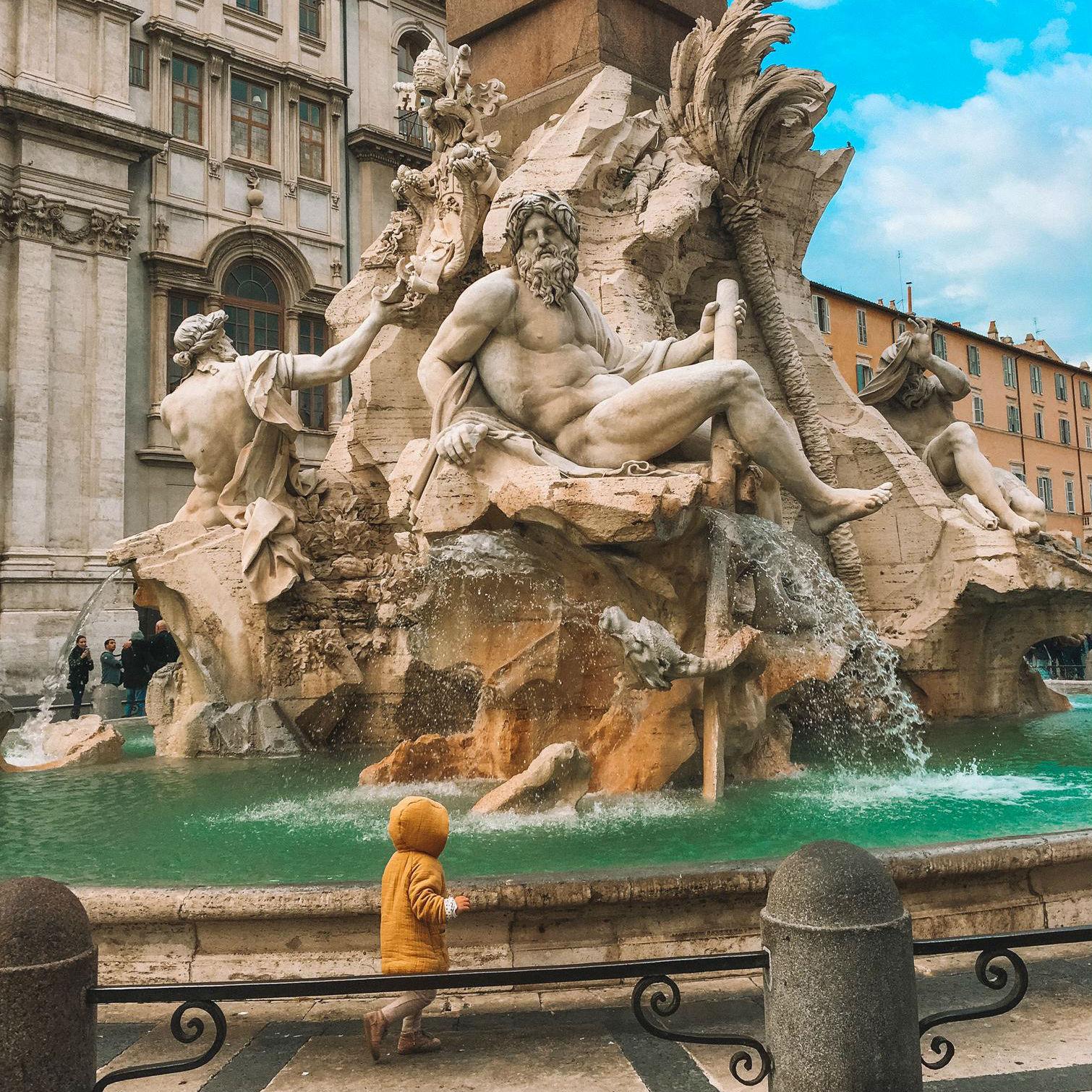 Фото: Выходные в Риме с ребёнком