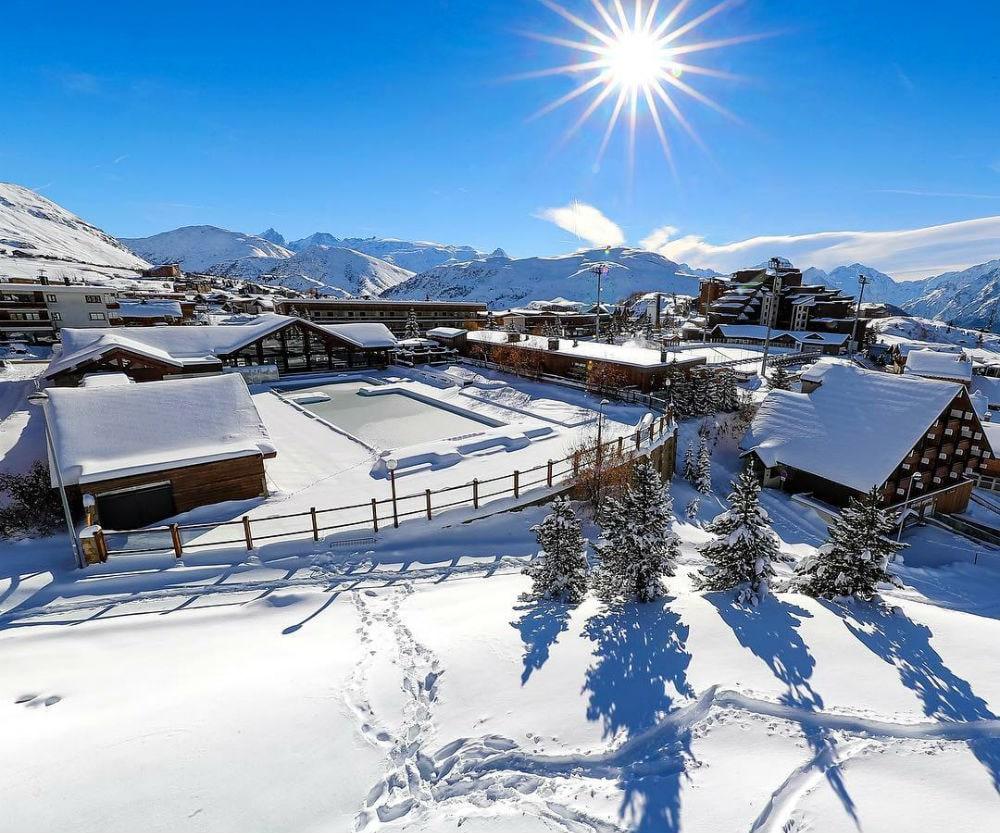 Фото: Горнолыжный курорт Alpe d'Huez